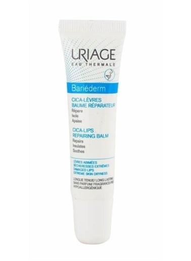 Uriage Uriage Bariederm Cica Lips Repairing Balm 15 ml Renksiz